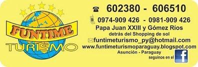 FUNTIME TURISMO 602380 606510 0974.909426   0974.909428