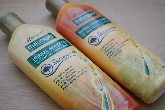 Moringa O2 Herbal Shampoo and Conditioner with Argan Oil