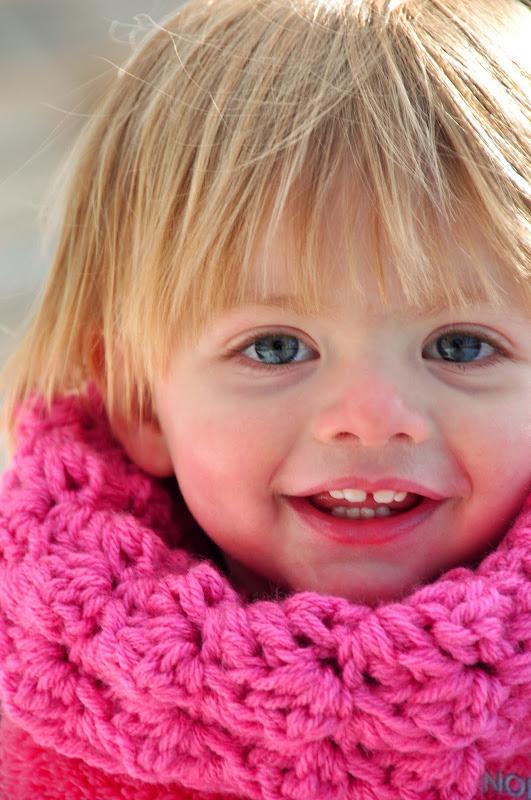 Aesthetic Nest Crochet Childs Sedge Stitch Cowl Pattern