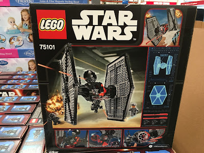 Start building up your Galactic Empire one brick at a time with a Lego TIE Fighter