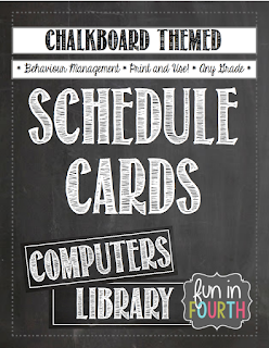 https://www.teacherspayteachers.com/Product/Classroom-Schedule-Cards-Chalkboard-Themed-824350