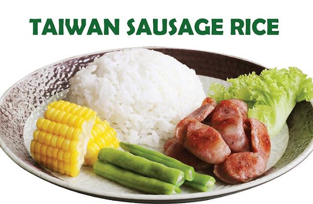 Taiwanese Sausage Rice