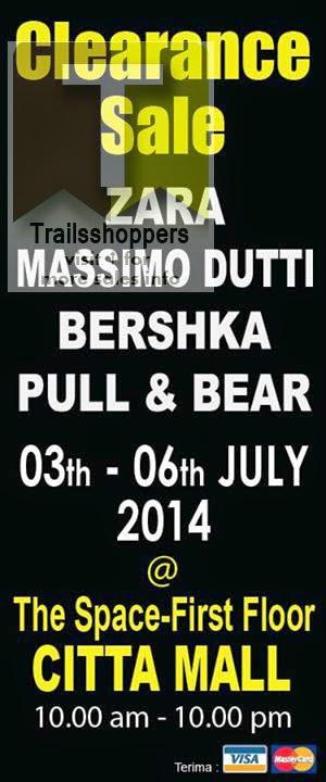 ZARA Bershka Massimo Dutti Pull&Bear Clearance Sale