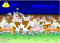 لعبة البقرة المجنونة