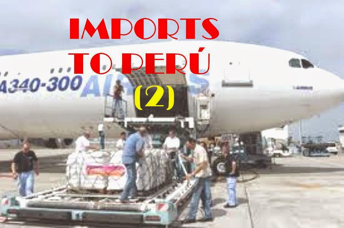 IMPORTS TO PERU 2