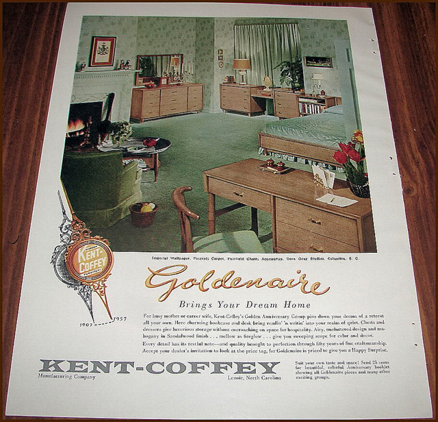 MidMod KentCoffey Manufacturing Company - Kent coffey bedroom furniture