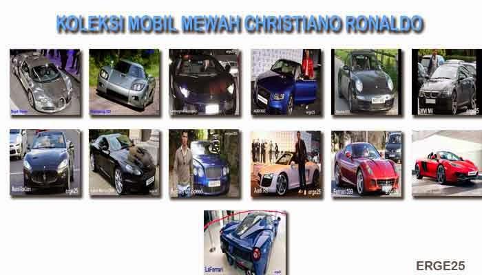 Koleksi Kendaraan Beroda Empat Glamor Christiano Ronaldo