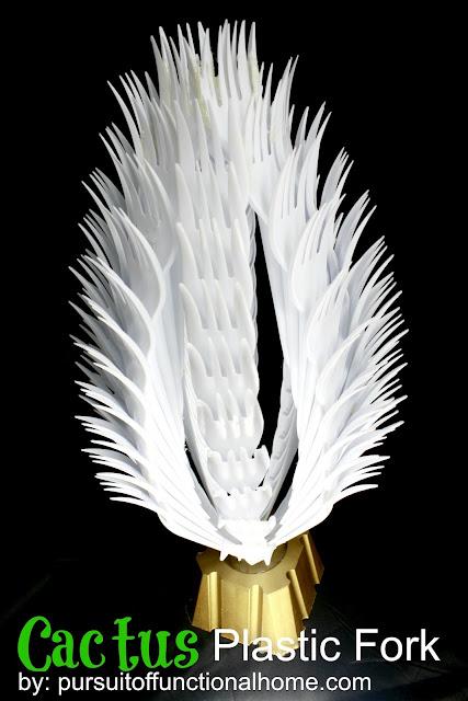 Cactus Plastic Fork