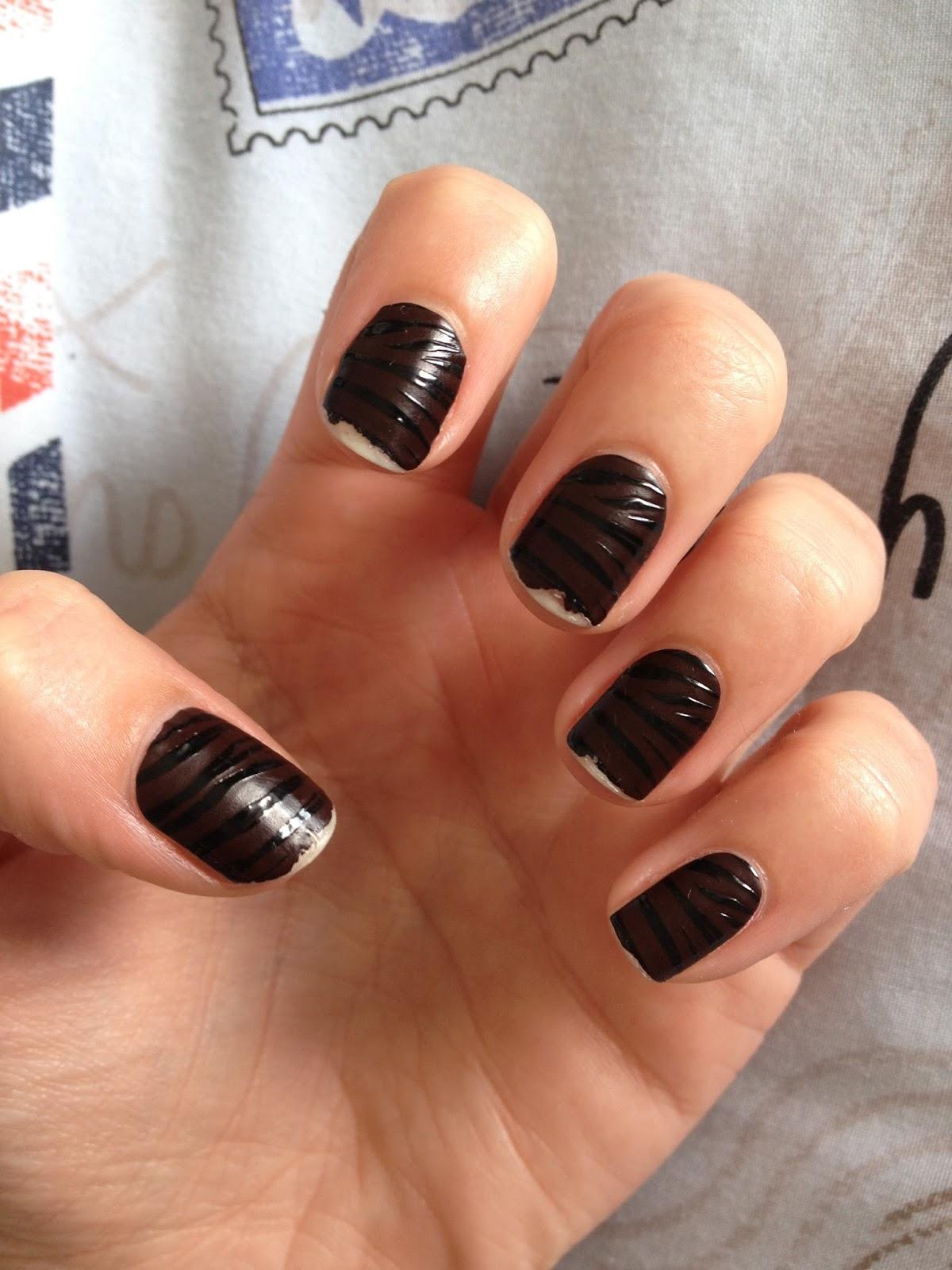 Hannahnhearts: Essie sleek stick nail stickers review