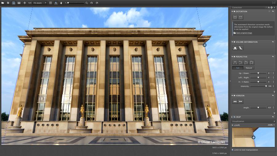 Download DxO ViewPoint Gratis dan Legal - Aplikasi Untuk Mengubah Pandangan Foto