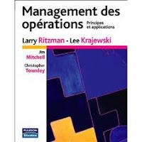 Best-seller international, Management des opérations couvre l'essentiel du sujet, allant des choix stratégiques aux décisions opérationnelles