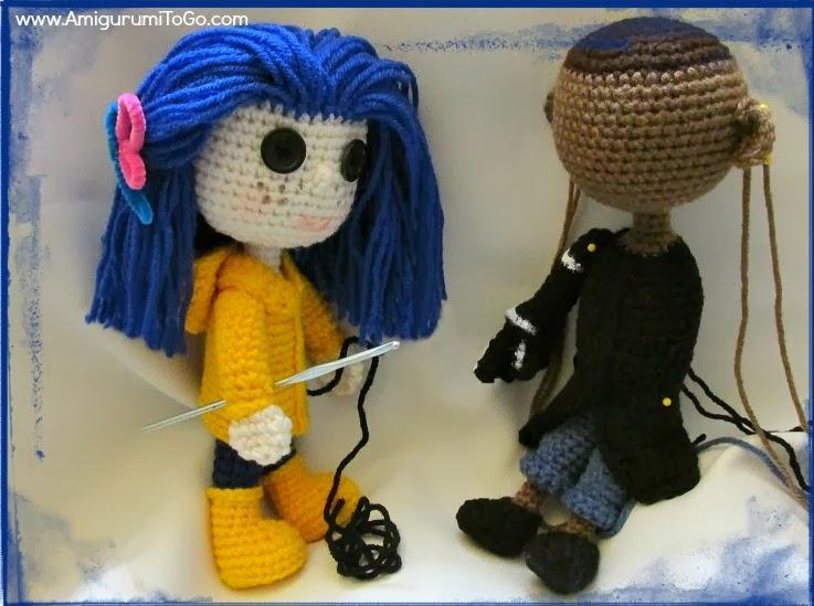 Amigurumi To Go Coraline : Ran out of yarn ~ amigurumi to go