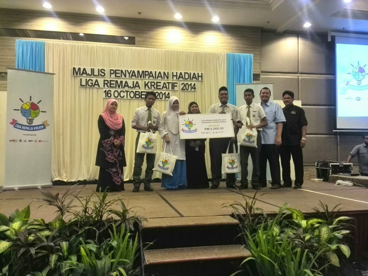 Keputusan Liga Remaja Kreatif 2014 (Zon Utara) Kedah