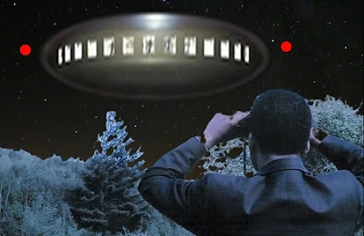 Barney Hill Vewing Alien Craft