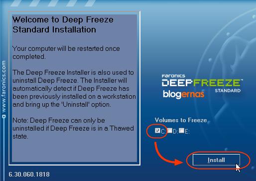 Cara Cepat Lagi Manjur Menginstall Deep Preeze pada Komputer dan Laptop border=