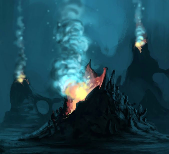 """origin of life theory deep sea vents On the origin of a theory  we would have been laughed out of the origins-of-life community,"""" he says but nasa, then starting up its astrobiology program, was looking for evidence that life ."""