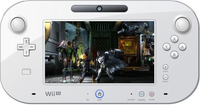 Playing Injustice: Gods Among Us on Wii U GamePad