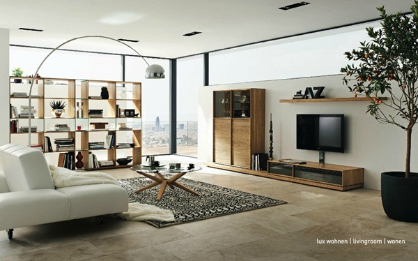 Modern Furniture with Natural Wood Pieces