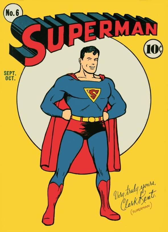 Superman Comic Book Cover Art : El arturelo ensayo sobre superman