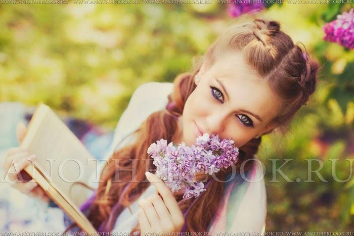 фото сиреневый сад фотосессия