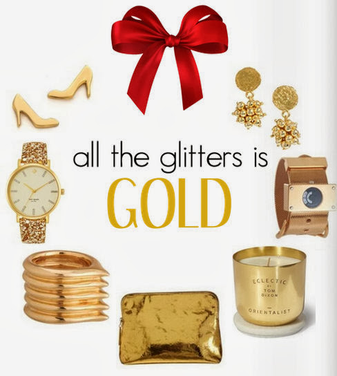 holiday gift guide gold