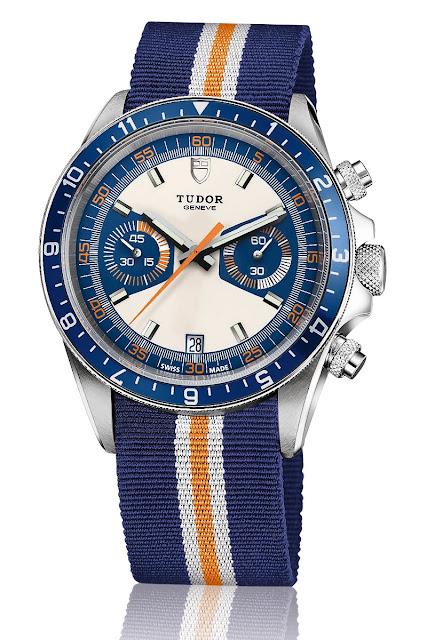 Reloj Vintage Tudor Heritage Chrono Blue