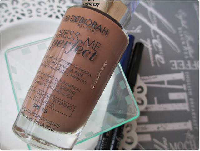 Base de Maquillaje Dress Me Perfect de Deborah Milano