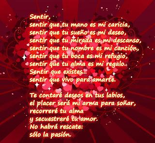 Poemas de amor para enviar. Postales para enamorar en