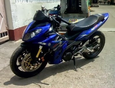 Modifikasi Jupiter Mx Keluaran 2008