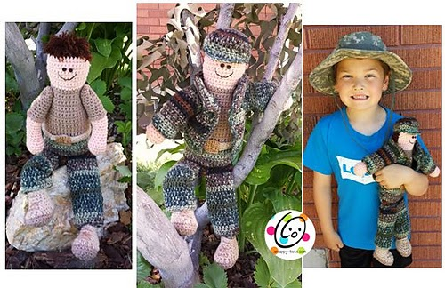 Army Man Crochet