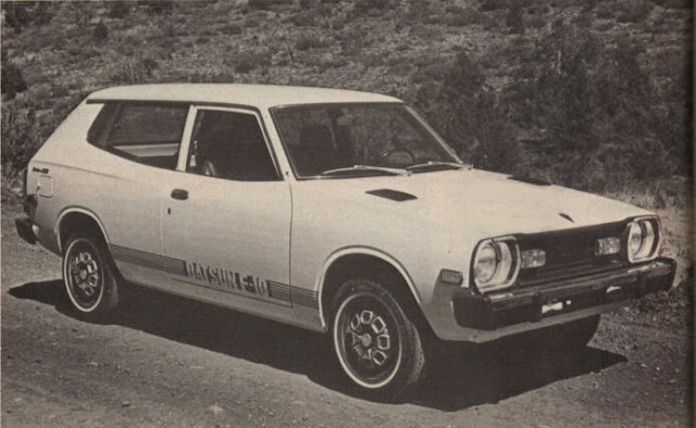 Period photo of 1977 Datsun F-10