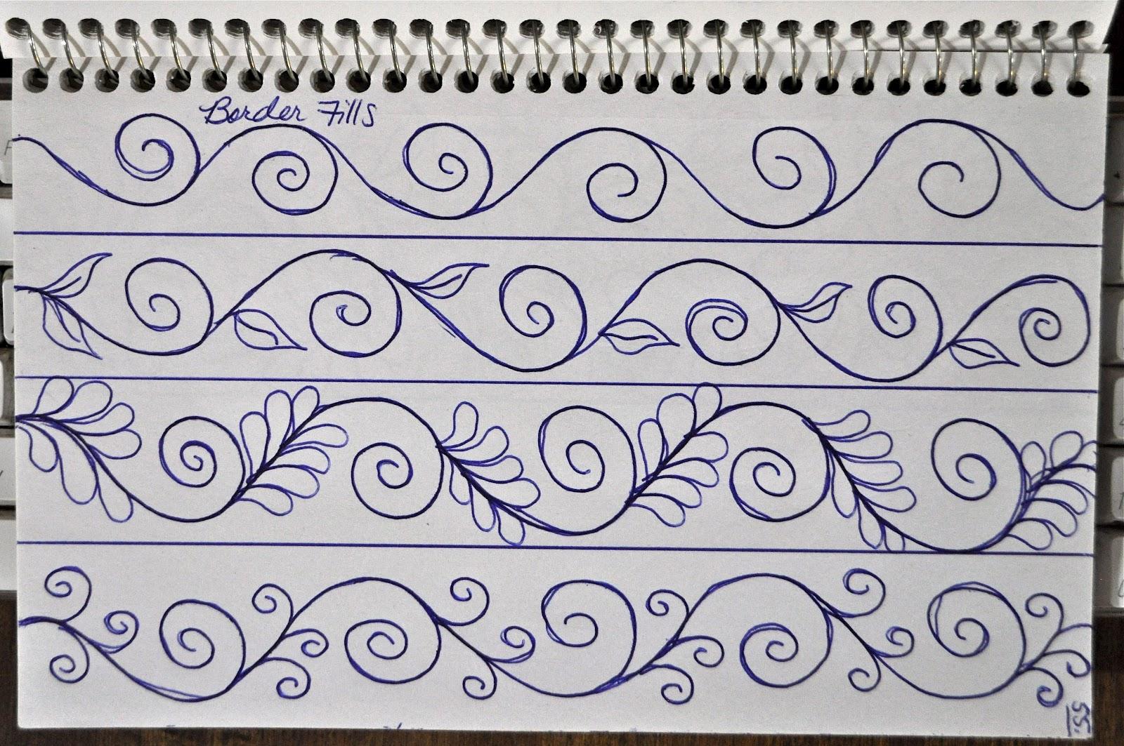 luann kessi sketch bookborder designs