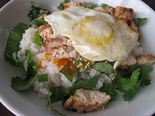 sweet chile chicken rice bowl once i started eating korean rice bowls ...