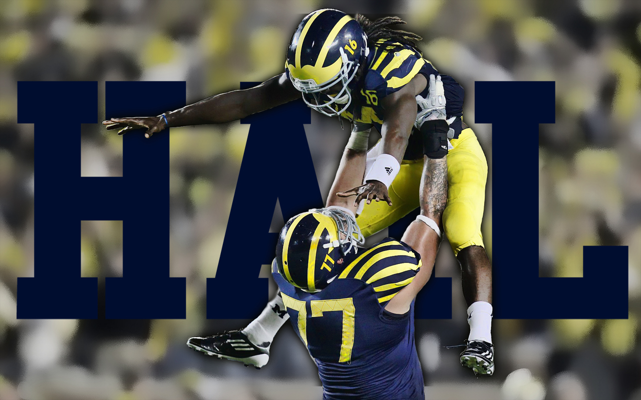Good Wallpaper Football Michigan