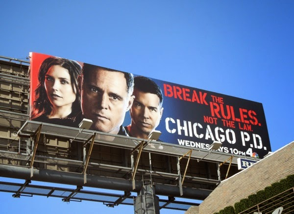 Chicago PD season 2 billboard
