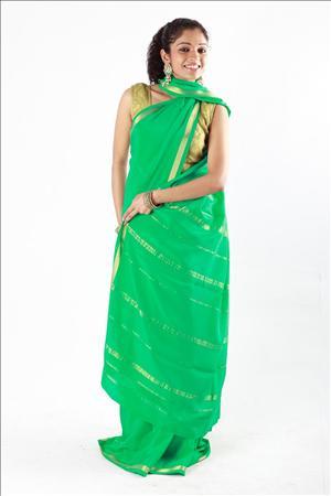 Beautiful Silk Sari Models