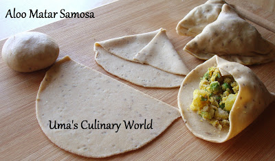 Whole Wheat samosa