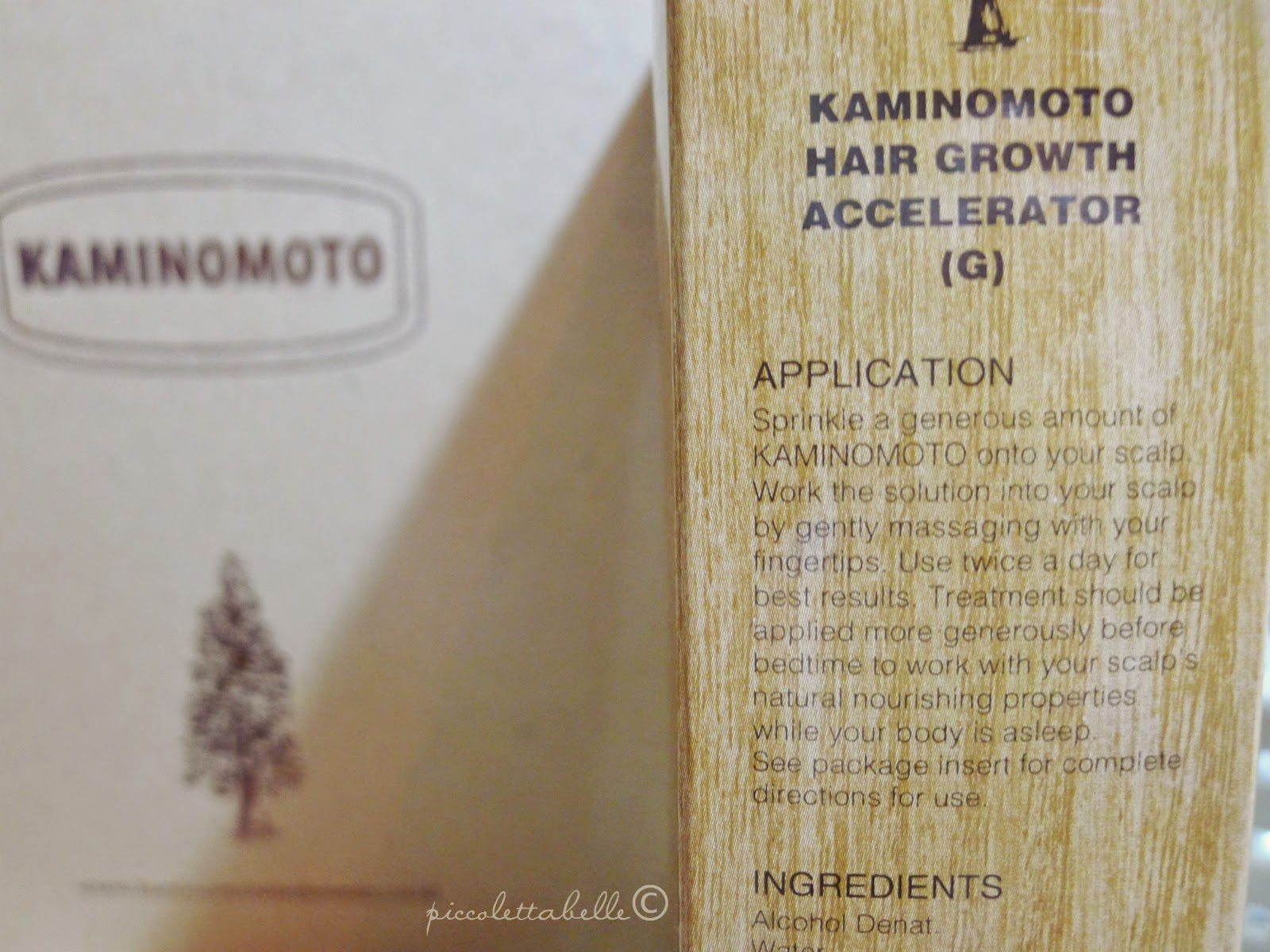 Beauty Blog By Deedee Young Sponsored Review Kaminomoto Hair Growth Accelerator 150ml And Heres The Some Explanation Of Application On Side Box