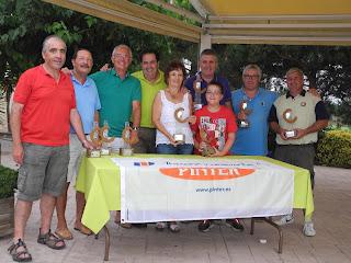 Ganadores VIII Open Pinter P&P El Vendrell