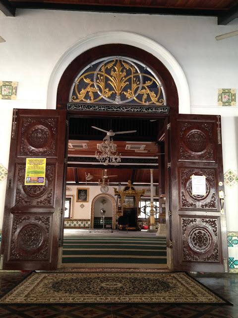 masjid, masjid melaka, masjid tertua