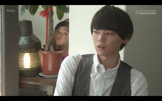 Kotoko is keen to hear about Naoki's ideal type.