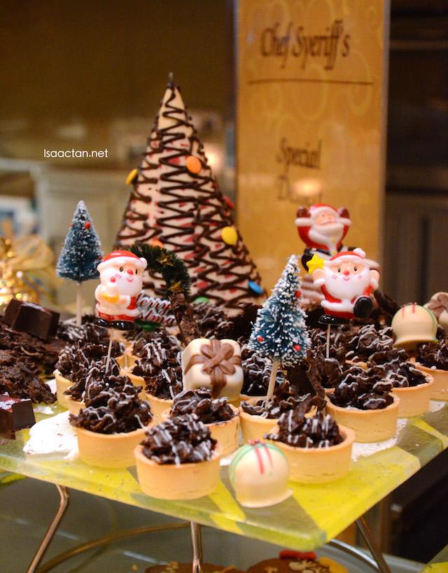 Various desserts