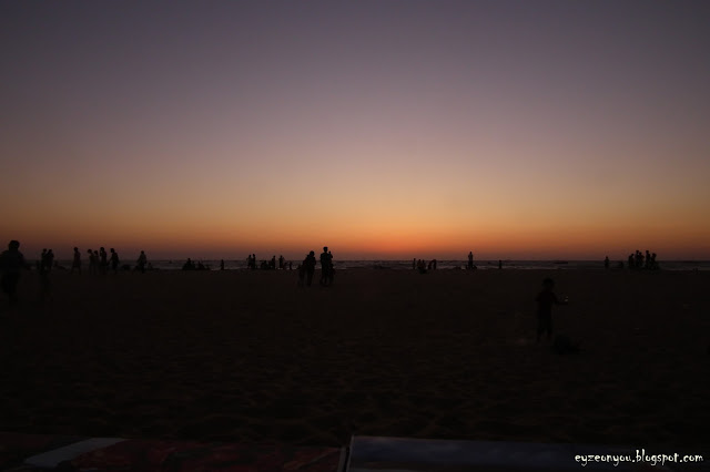 sun, sunsets, goa, baga beach, sea