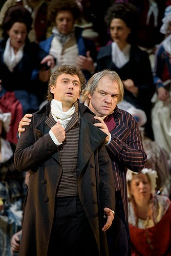 Jonas Kaufmann and Zeljko Kucic in Andrea Chenier at Royal Opera House -  © ROH. Bill Cooper 2015