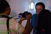 Foto: Peterson Azevedo - Entrevistando Aurélio Schommer