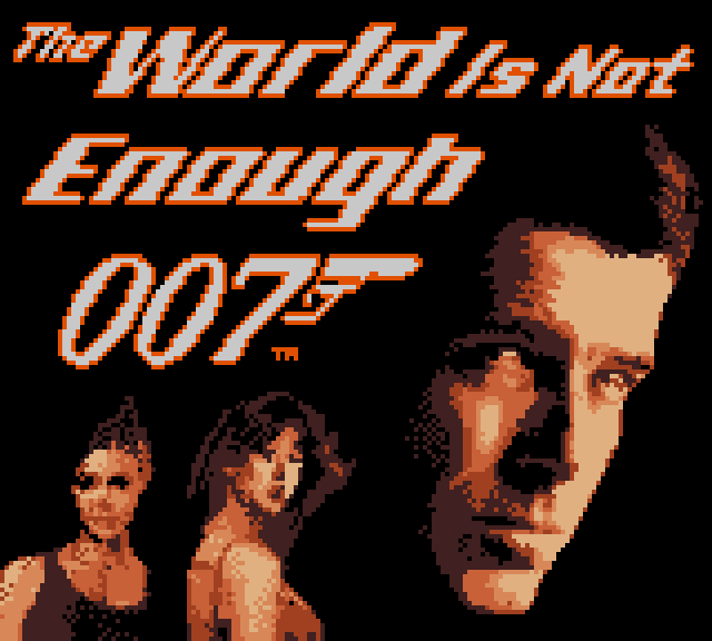 The World is Not Enough Game Boy Color title screen