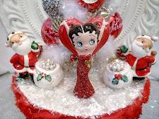 Betty Boop Christmas Tree Box