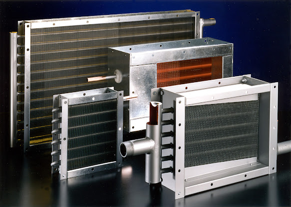 Coil Heat Exchangers designed by S&P Coils