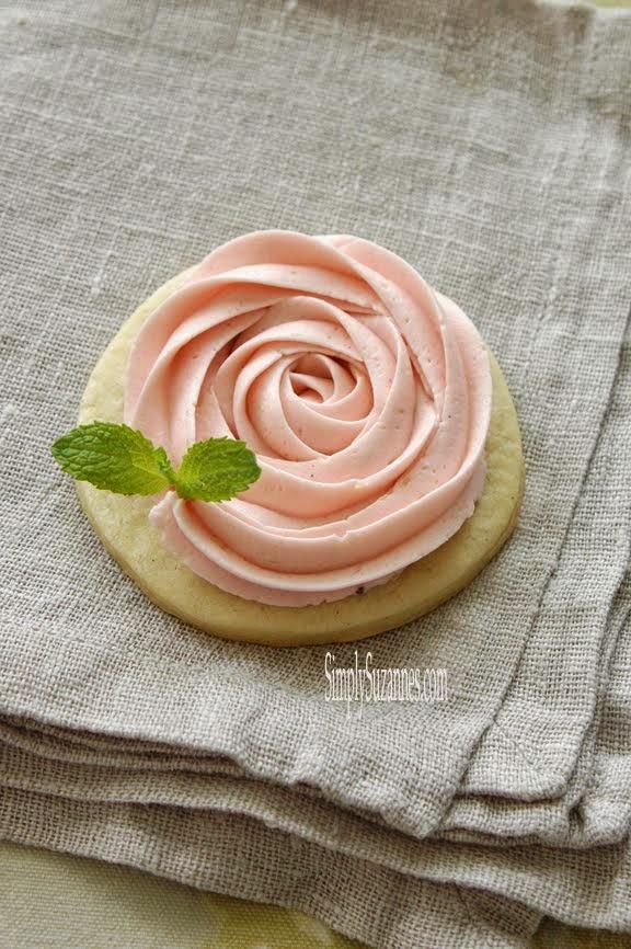 a pink rosette