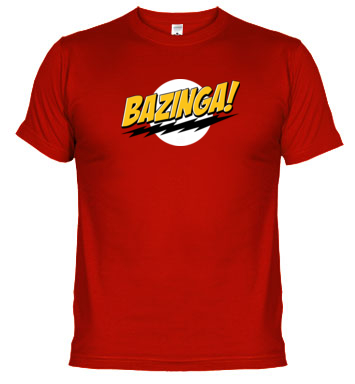 camiseta bazinga sheldon cooper the big bang theory - Juego de Tronos en los siete reinos